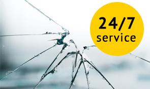 24/7 glasschade service Amsterdam