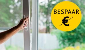 dubbel glas besparen amsterdam